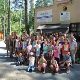 Obóz sportowo-taneczny ES Kadra - Pabianice 2015